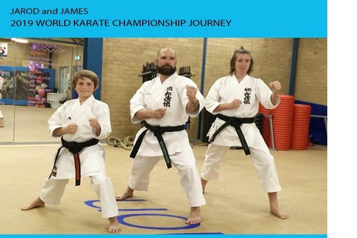 Fundraiser by Alan Stratton : Jarod and James World Karate