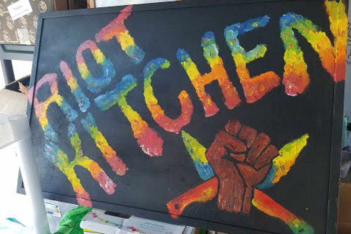 Fundraiser For Mae Blue By Jennifer Scheurle Riot Kitchen Food Truck