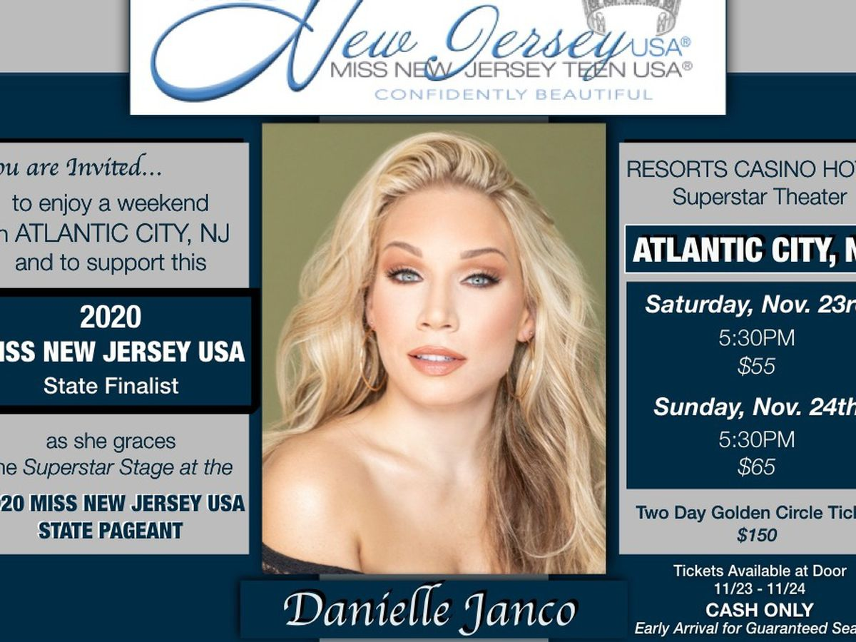 Miss New Jersey 2020.Fundraiser By Danielle Janco Danielle Janco For Miss New