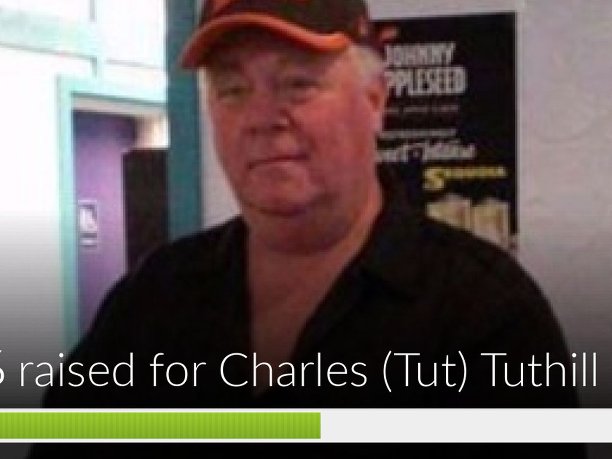 Fundraiser by Cathy Mehrle Tuthill : Charles (Tut) Tuthill