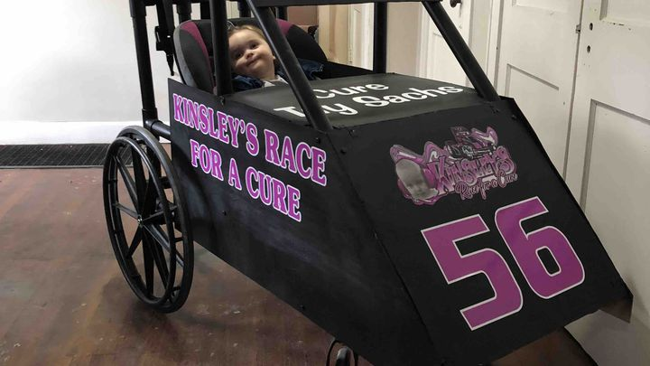 Fundraiser by Daniel Sibley : Kinsley's Race For A Cure