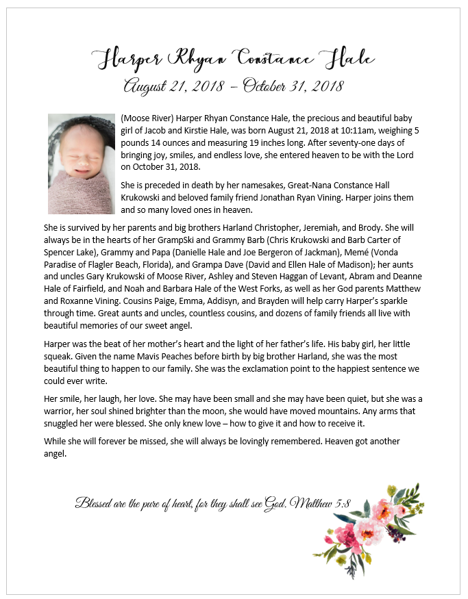 Fundraiser for Ashley Haggan by Melody Rich : Memorial Funds