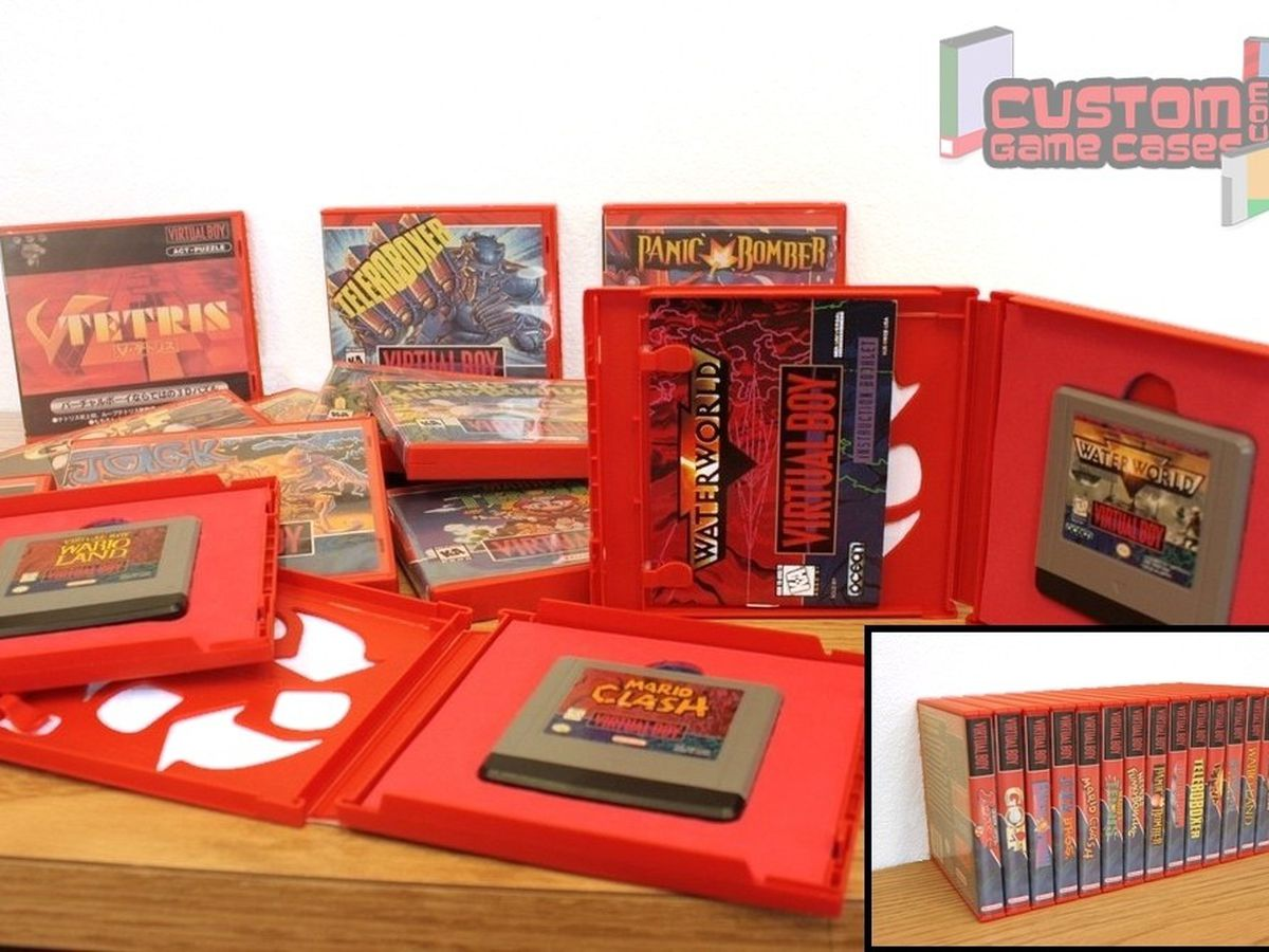 Fundraiser by Jeremy Gann : Virtual Boy Collectors Game Cases