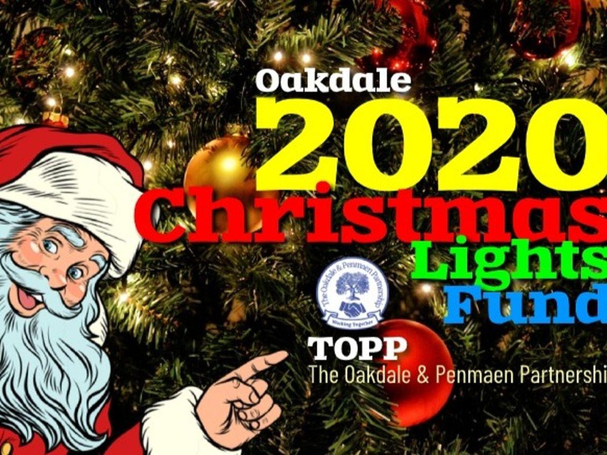 2020 Oakdale Christmas Lighting Fundraiser for Cathy Clark by Cathy Clark Treasurer, TOPP