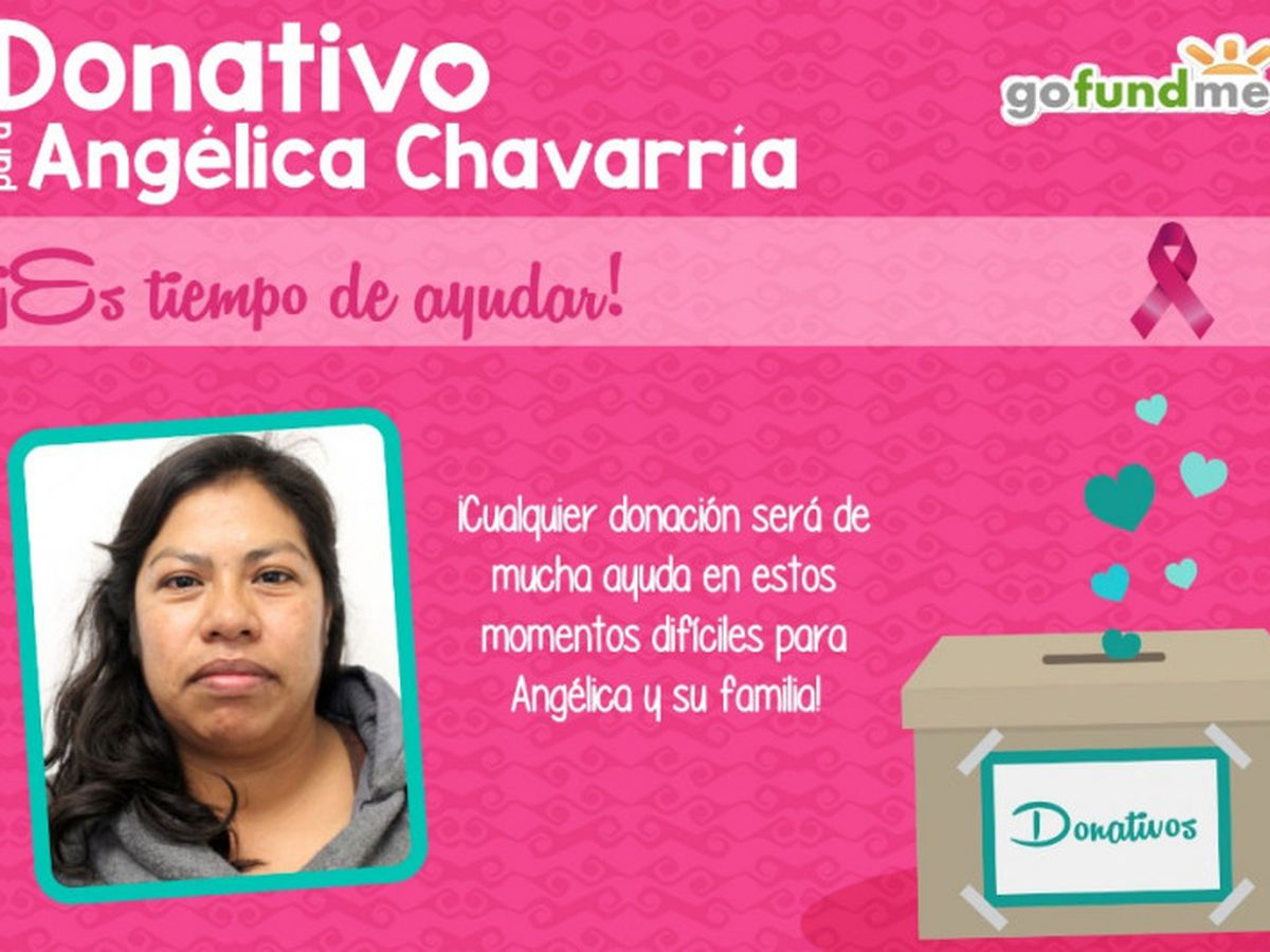 Angelica Cepeda fundraiser for mirella montalvodaniela gonzalez